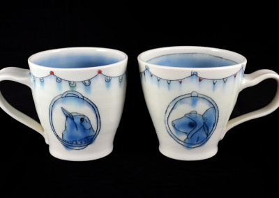 Bird & Squirrel Mugs
