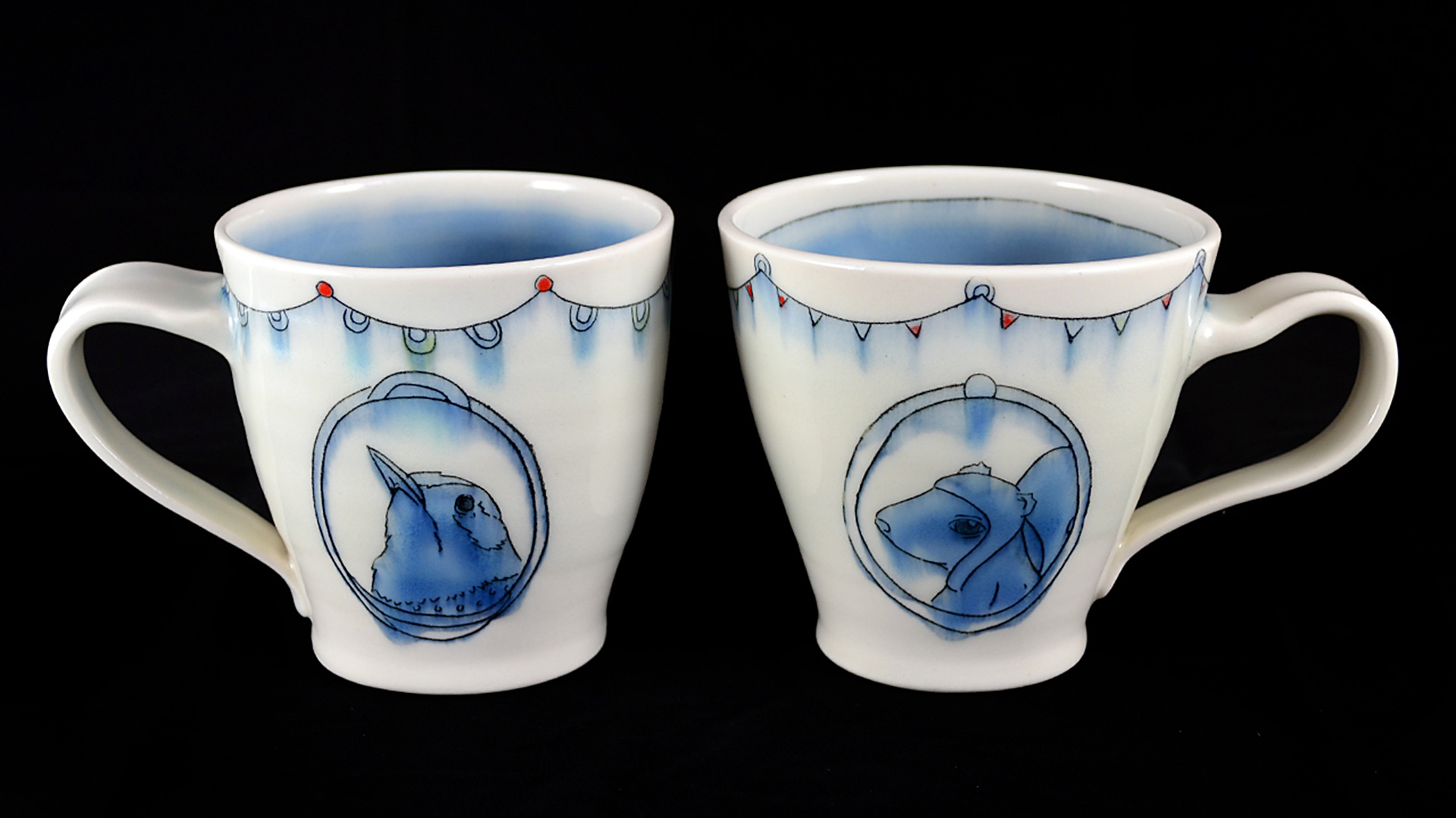Leah Guerin Ceramic Mugs